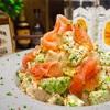 【レシピ】鶏ハムとアボカドのマヨマスタードサラダ