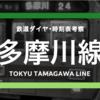 【目蒲線分離された】東急多摩川線の時刻表考察《2016.3.26ダイヤ改正》