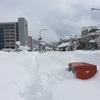 鳥取市内は「雪国」でした!