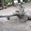 Ream Pagoda にある巨石をくりぬいた彫刻群、2−2。