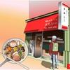 早稲田の老舗ラーメン店「メルシー」のお店をエクセルで描いてみた