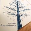 【せんだん保育園 壁画】栴檀の四季と小動物を描く
