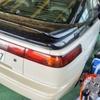 アルシオーネSVXのレザーハンドルすれキズとデッキ横のキズ修理