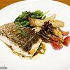 【デリバリー】神戸屋レストラン ~国産真鯛のグリルきのこ添え醤油バターソース~