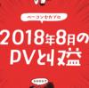2018年8月のアクセスと収益【献本&5万5千円】