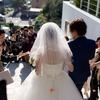 結婚式終了!!