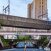 仙台市の三層立体交差、五橋一丁目交差点(新北目ガード付近)・五橋駅前交差点の風景