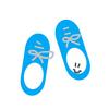 アメリカで買った赤ちゃん用靴
