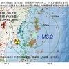 2017年09月20日 10時19分 宮城県沖でM3.2の地震