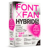 FONT x FAN HYBRID 5のフォント数は12,817のフォントです。