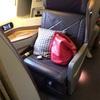 ロサンゼルス→成田(シンガポール航空ビジネスクラス搭乗)