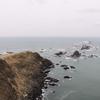 風が強く豪快な風景の襟裳岬