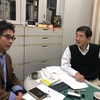 社会人大学院生の論文のインタビューを受ける。人事委員会、学部運営委員会、教授会。