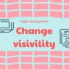 表示の条件(Sometimes Visible)を設定してみる 初心者のアプリ開発 Adalo
