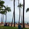 ハワイの代名詞ともいえるワイキキビーチに行ってみた