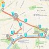 フランス出張 -パリで初の朝ラン(10km)
