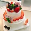 ☆二段ケーキ☆