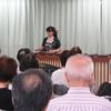 地域安全講座 マリンバ演奏&二中の取り組み