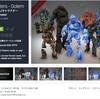 【ハロウィン作者セール】神話&ファンタジー系のキャラクター3Dモデル素材「Polygonmaker」ゴーレム/ リザードマン/ エイリアン/ ワイバーン/ サイクロプス/ ゴブリン/ 伝説の戦士/ ウィザード/ 戦士(最大90%OFF)