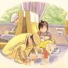 読み聞かせのコツ 絵本「こんとあき」林明子 作 おばあちゃんのセリフは最大の愛情表現で!