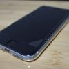 iPhone SE 2020のフィルムが浮く。
