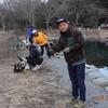 ひさしぶりにY川君と大芦川で お気楽釣行半分プラ・半分^^