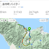 赤井川・古平自転車81㎞