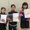 【 試合結果 】第12回宮城スプリングカップ卓球大会