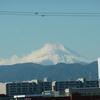 霊峰富士~立川より