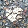 シンプルな写真。石だけど。