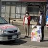 「コロナ後の社会は、新しい政治を」と伊達町、保原町で街頭宣伝