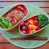 【お弁当】豚カルビ丼弁当20180710