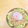 【簡単レシピ「なんちゃってロコモコ丼」】