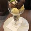 石川町のパティスリー・レ・ビアン・エメでチョコミントのパフェ