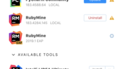 JetBrains プロダクトを管理するプロダクト「JetBrains Toolbox App」