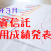 投資信託 【2021年3月 運用成績公開】