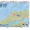 2016年06月20日 11時19分 島根県東部でM3.1の地震