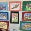 軽度認知機能障害回復プログラムなつめで臨床美術「木の芽のフォルメン」を行いました