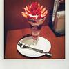 デニーズの「苺苺苺苺苺苺苺苺苺苺苺!のザ・サンデー」を食べました。