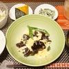 きくらげと卵の塩麹炒めはすぐできる/かぼちゃの冷凍保存(*^_^*)