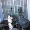 松尾芭蕉の像 at 清澄白河