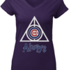 Perfect Chicago Cubs Deathly Hallows Always Harry Potter shirt
