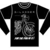 G-LADDERオリジナル スポーツドライロングTシャツ オーダー受付開始