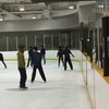 関西大学体育会アイスホッケー部OBの方とスケート教室