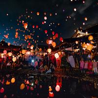 8月31日、「AkaReeT (アカリート) 」が津幡町の倶利迦羅不動寺西之坊鳳凰殿にて開催!