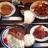 50円でエビフライとハンバーグとウィンナーと卵焼きが食べれるお店!!