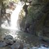 岐阜県恵那市にある串原七つの滝(城山の滝)