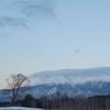 早朝の雪景御嶽山(御岳山)・2021年2月06日