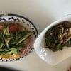 日曜☆平日コープ弁当だから久々に作った夕ご飯☜