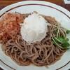 松本城の信州蕎麦祭り。信州山形村「やまっちそば」が美味しい